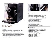 COLET Q003 BEANS TO CUP COFFEE MACHINE PROFATIONALY MADE FOR COFFEE LOVERS