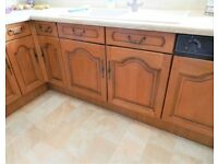 Solid Oak Kitchen Cupboard Doors and Draw Fronts.