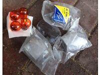 Clear indicators & orange bulbs for 954cc Fireblade