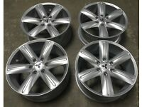 "20"" GENUINE MITSUBISHI SHOGUN PAJARO L200 ALLOY WHEELS LE MANS 111 BRAND NEW"