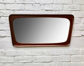 Vintage Retro Wall Mirror Rectangular #640