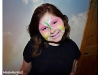 Facepainters for Parties and Events, We offer Party Packages and Professional Photography!