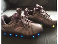 Silver Geox kids shoes