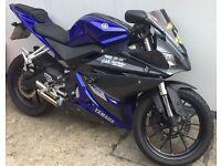 Yamaha YZF-R 125 14Plate