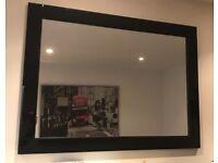 Black high gloss mirror