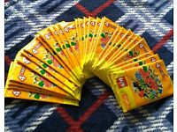 116 LEGO Trading Cards - Brand New Unopened.