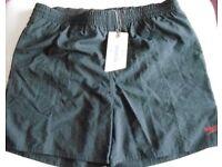 Speedo Junior Solid Leisure Boys Shorts. Black. Size: XXL