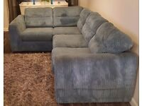 DFS Teal Sofa bed couch excellent condition less than 3 years old
