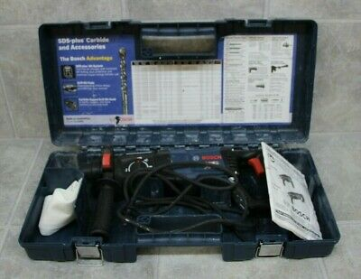 Bosch Model 11255vsr Bulldog Xtreme Hammer Drill W Hard Case