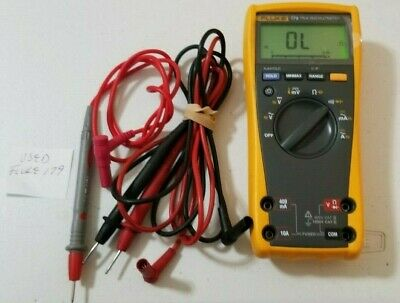 Used Fluke 179 True Rms Digital Multimeter And More Tp 239621