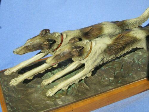 """12"""" BORZOI RUNNING DOGS MATCH STRIKER AUSTRIA"""