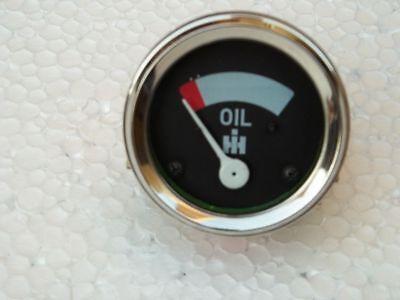 Ih Farmall Oil Pressure Gauge Fits A B Super A Super A1 Csuper C- Screwin