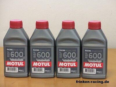 ( 23,60€/l) Motul RBF 600 Motorsport Bremsflüssigkeit 4 x 500 ml