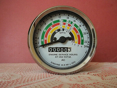 Fordson Power Major Super Major Tachometer Tractormeter 80mm Clockwise