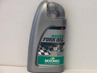 Motorex Racing Fork Oil Gabelöl SAE 5W 1 ltr