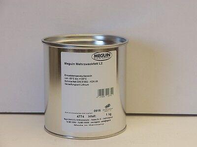 Meguin Mehrzweckfett L2 1 kg Lithium Fett Schmierfett