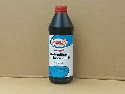 Meguin Megol Hydraulik Öl ATF Dexron II D 1 Ltr  Automatikgetriebeöl