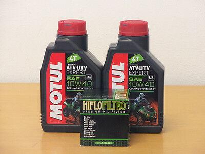 Motul Öl Quad teilsyn /  Ölfilter Suzuki LT-F160 Bj 99-04 (Suzuki Quad öl)