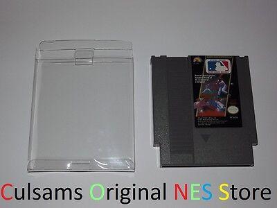 ORIGINAL NINTENDO NES MAJOR LEAGUE BASEBALL MLB GAME, SLEEVE & 30 DAY (Baseball Original Nintendo Nes Game)