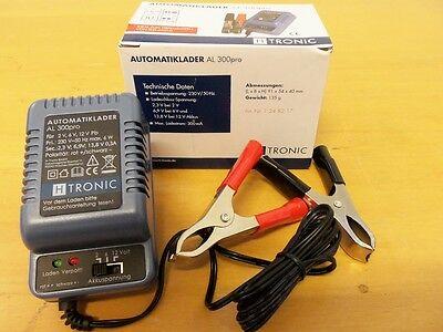 Batterie Ladegerät AL 300 pro H-TRONIC Automatik Erhaltungs Lader für Motorrad