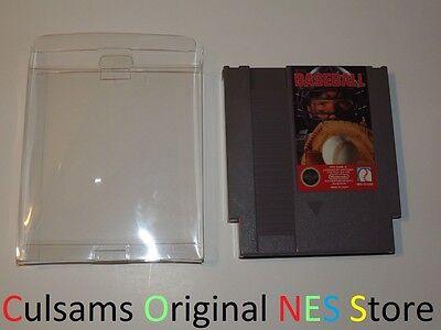 ORIGINAL NINTENDO NES TECMO BASEBALL GAME WITH SLEEVE & (Baseball Original Nintendo Nes Game)