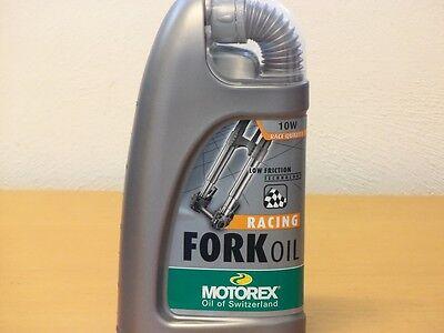 Motorex Racing Fork Oil SAE 10W 1 ltr Gabelöl für hohe Beanspruchung