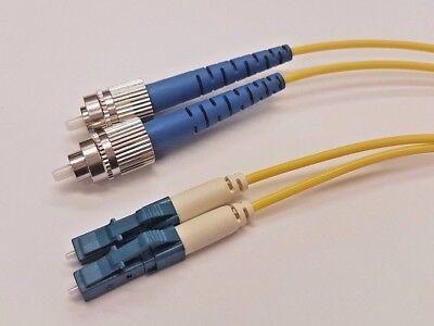 1 Metre FCPC-LCPC 2mm Fibre Optic Patch cord OS2 Singlemode Duplex G657A2 LSZH