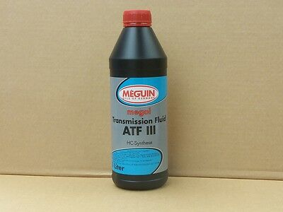 Meguin Megol Transmission Fluid ATF III rot 1 Ltr  Automatikgetriebeöl ATF 3