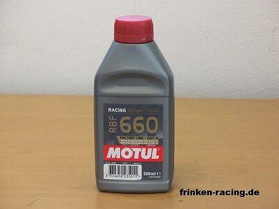 ( 32,80€/l ) Motul RBF 660 Motorsport Bremsflüssigkeit 0,5 l