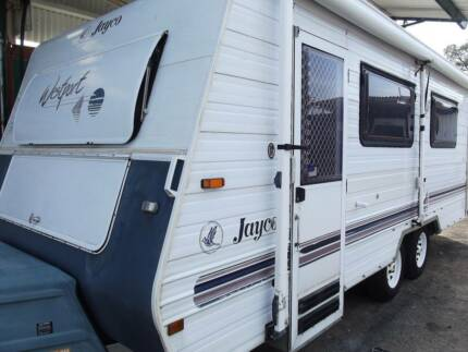 #1820 Jayco 19' Westport shw R/out awning annex A/C 12rego Valentine Lake Macquarie Area Preview
