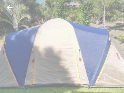 7 person Jackaroo dome tent & Jackaroo Tent | Miscellaneous Goods | Gumtree Australia Redland ...