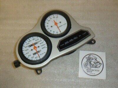 1985 1986 SUZUKI GSXR 750 SPEEDOMETER TACHOMETER INSTRUMENT CLUSTER INDICATOR