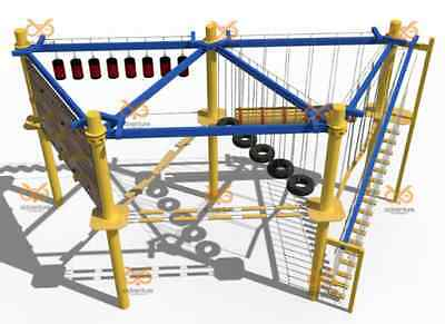 Commercial Rock Climbing Wall Obstacle Course Structure Inflatables We Finance