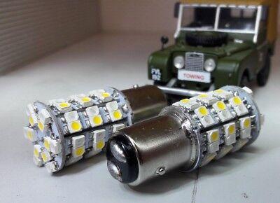 Bicolour LED AmberWhite Bulbs Classic Car Discrete Combined Indicator Sidelight