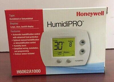 Honeywell Humidipro Humidistatdehumidistat H6062a1000