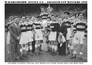 WALTHAMSTOW-AVENUE-AMATEUR-CUP-CELEBRATION-PRINT-1952