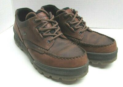 ECCO Track II Genuine Footwear Men Sz 42 / 8.0-8.5 Brown hiking (loc-16)