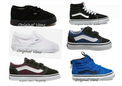 Vans Baby Toddler Selection of 6 Styles new with box 100% US Seller