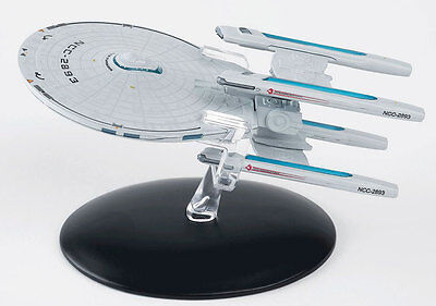 Eaglemoss Star Trek USS Stargazer NCC-2893 with Magazine EM-ST0019