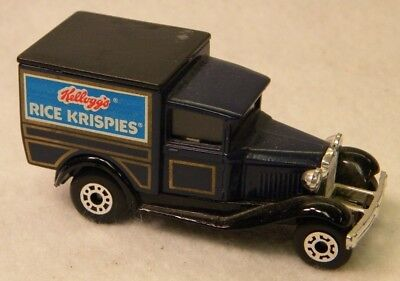 Matchbox 1979 Kellogg's Rice Krispies (R) Promo Model A Ford Truck Car KG6567