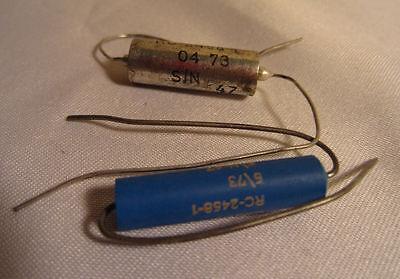 Lot Of 2 Balco Rc-2458-1 Power Resistor Capacitors