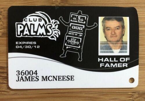 PALMS Hall of Famer PHOTO Black Robot Top Level Casino Players Slot Card Maloof