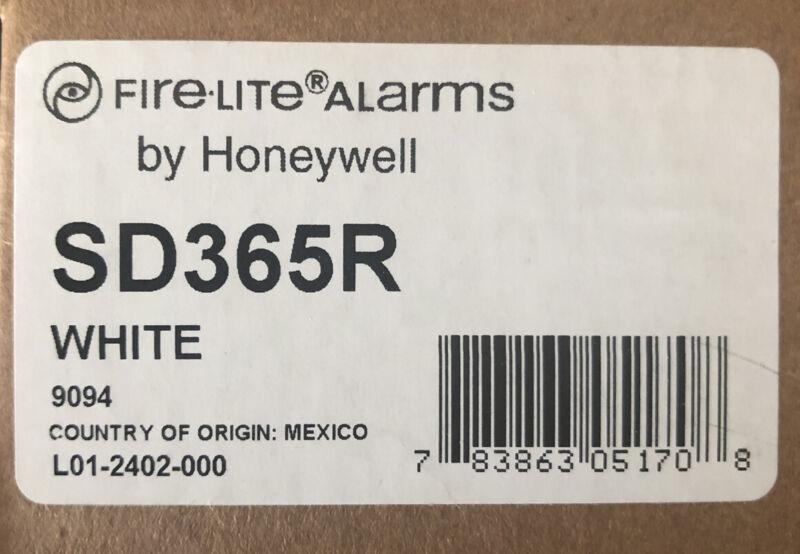 FIRE-LITE SD365R ADDRESSABLE SMOKE DETECTOR, FREE SHIPPING.