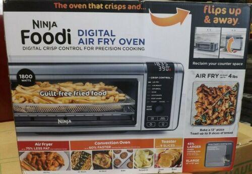 Ninja Foodi SP101 1800W Digital Air Fry Oven - Stainless/Black BRAND NEW
