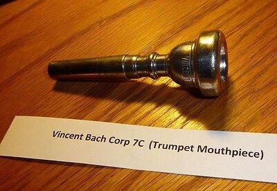 Parts, Accessories - Bach 7C Trumpet Mouthpiece