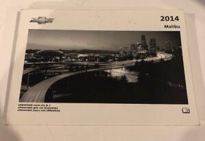 2013 malibu owners manual