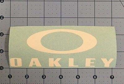 Oakley Decal Sticker 5.5