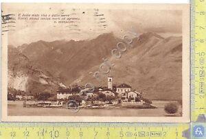 Cartolina - Postcard - Ristorante Verbano con poesia di Bertacchi - 1947 - Italia - L'oggetto può essere restituito - Italia