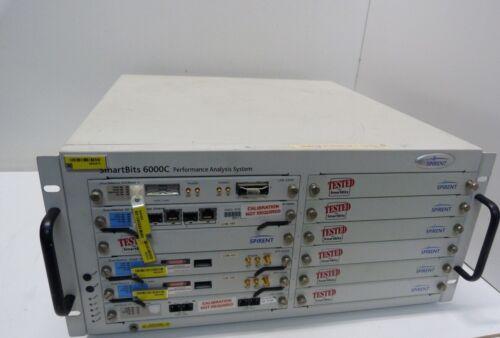 Spirent Smartbits 6000C SMB-6000C   Network Test Mainframe  REV.G