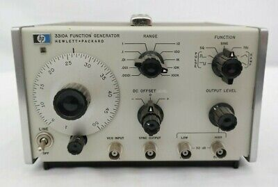 Hp 3310a Function Generator Hewlett Packard T5